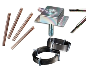 Exemples de pièces traitées pour la chromatographie