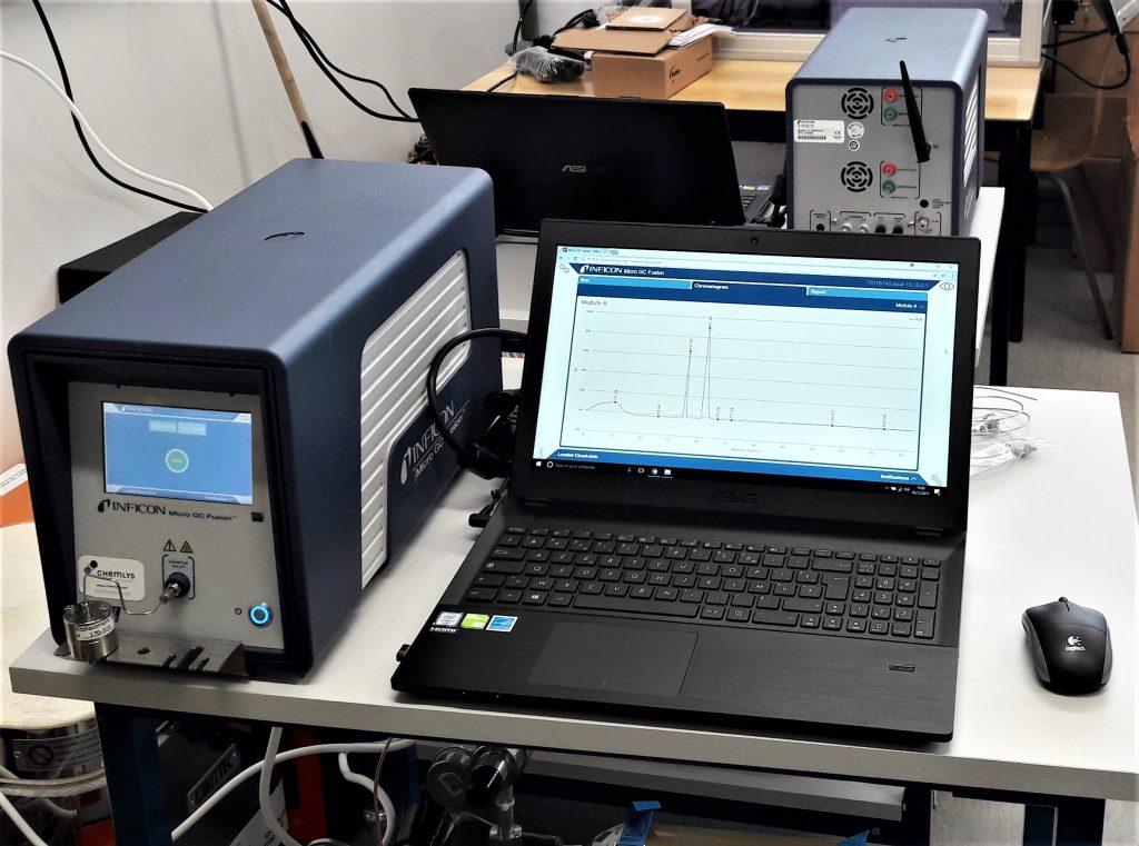 installation de deux Micro GC en parallèle.