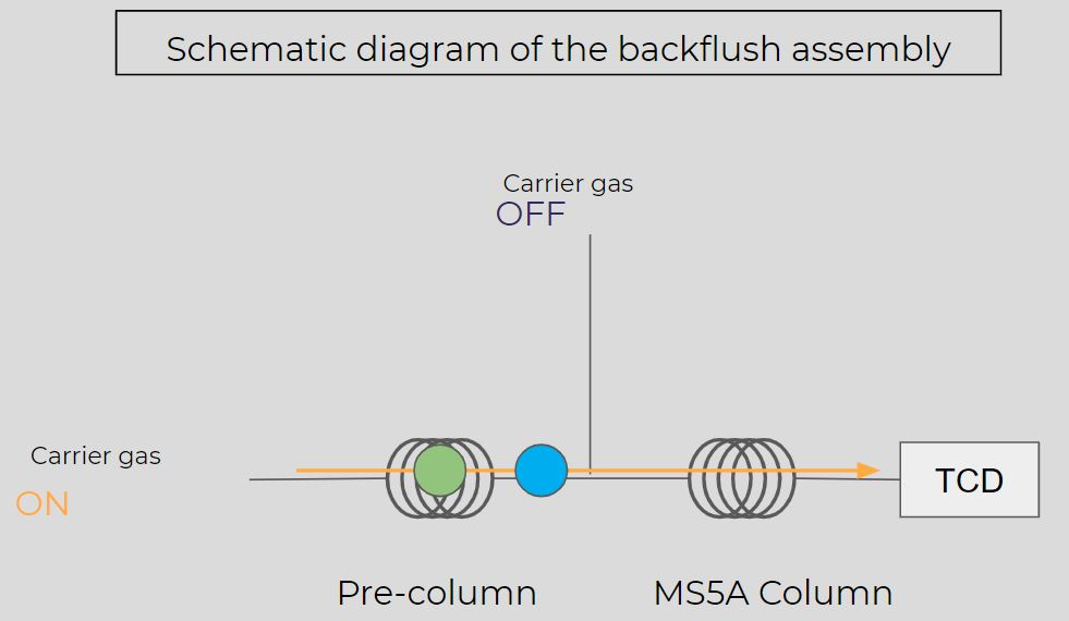 The Backflush in Micro GC, how to adjust it?